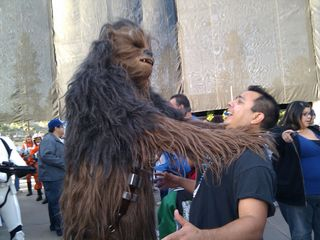 Chewbacca vs Phil