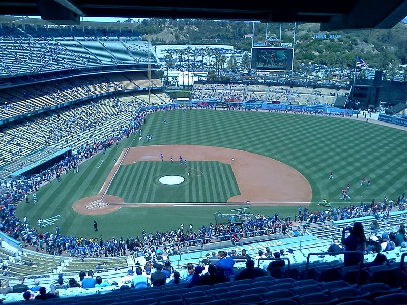 Little League Day at Dodgers