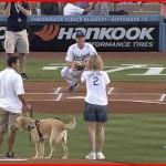 Dodger Blog Blind 1st pitch
