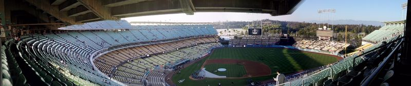 2012 Dodger Blog Kings panorama pic