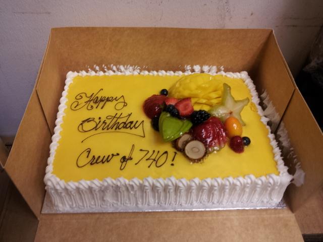 2012 Dodger Blog Final cake