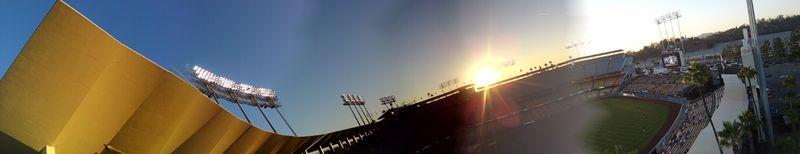 2012 Dodger Blog Final homestand far right field panoarma