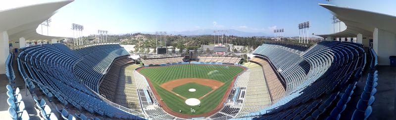 2012 Dodger Blog Bat Stadium