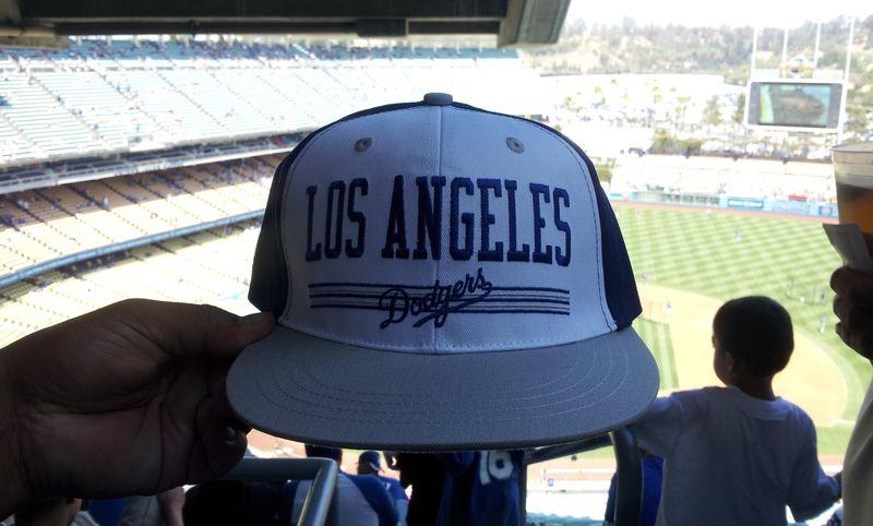 2012 Dodger Blog Snap Back hat day