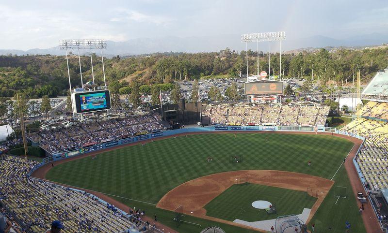 2012 Dodger Blog Vin Scully Day pic 2