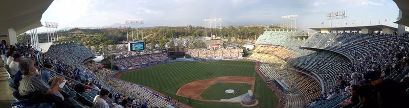 2012 Dodger Blog Vin Scully Day pic 3 panorama