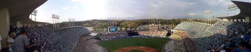 2012 Dodger Blog Vin Scully Day pic 4 panorama 2