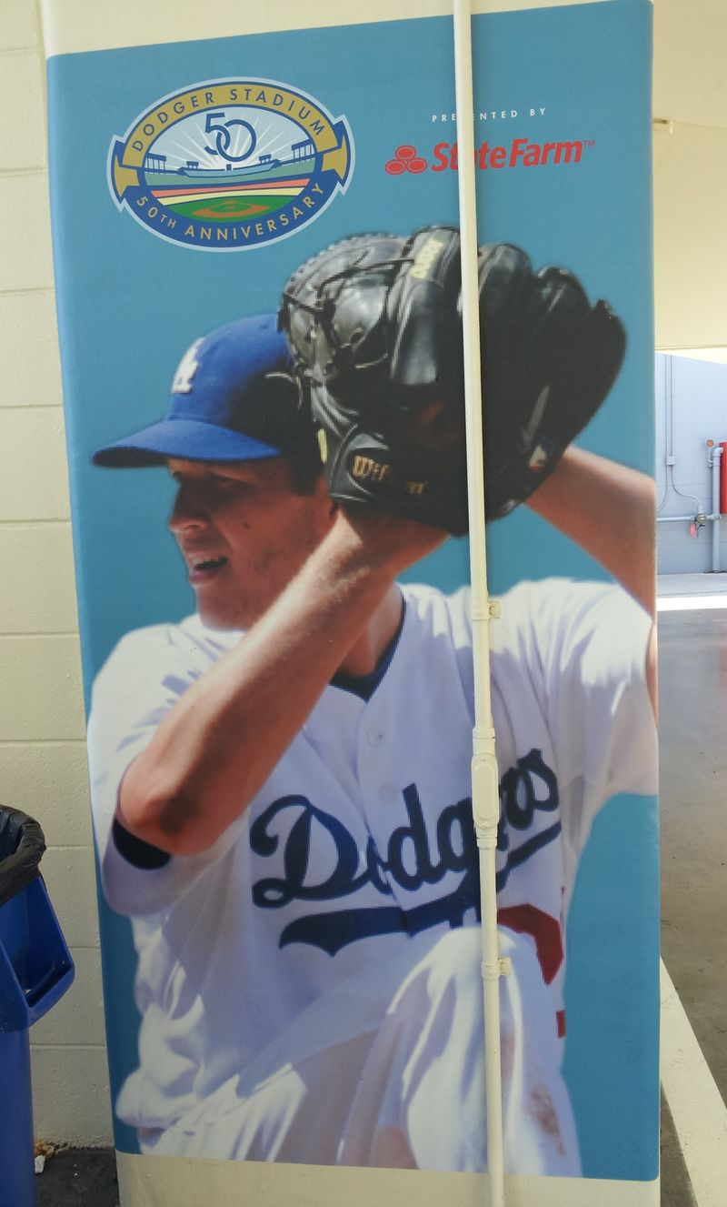 2012 Dodger Blog Clayton Kershaw photo