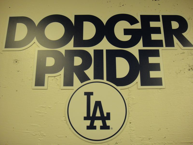 2013 Dodger Blog break room