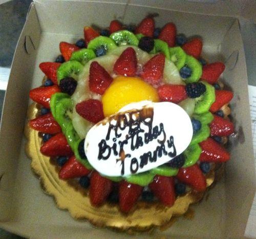 2013 Dodger Blog T cake