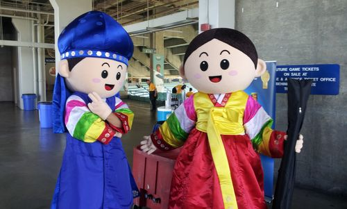 2012 Dodger Blog Korean Night character