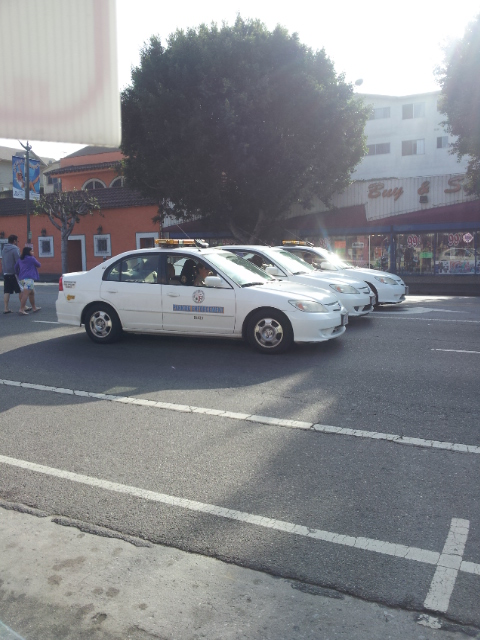 Parade parking patrol