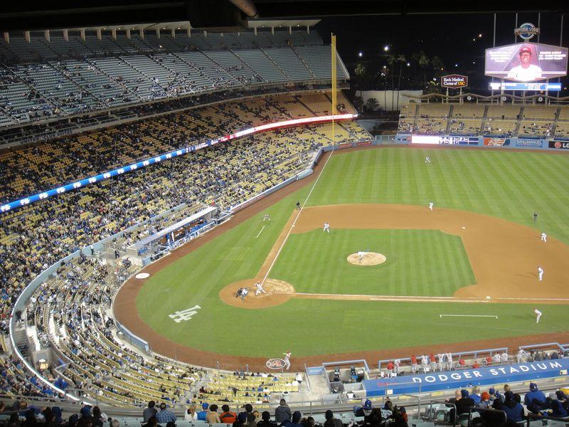 2013 Dodger BLog vs Arizona No fans 3