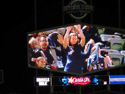2013 Dodger Blog v Arizona weds dance off 3 winner
