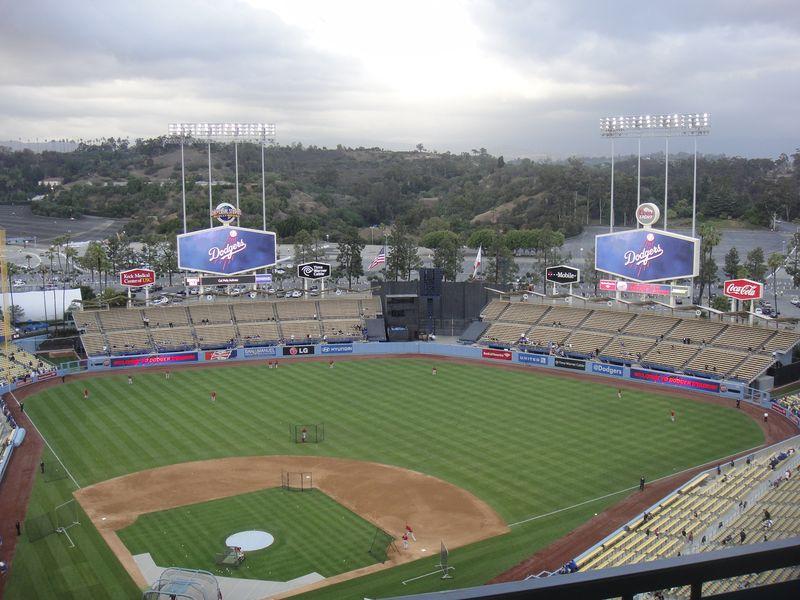 2013 Dodger Blog Rainy day 3