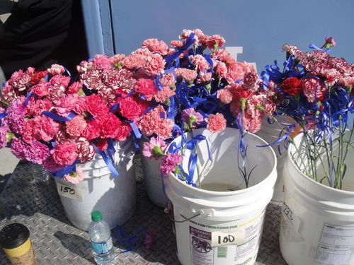 2013 Dodger Blog Mothers Day Employee Flowers