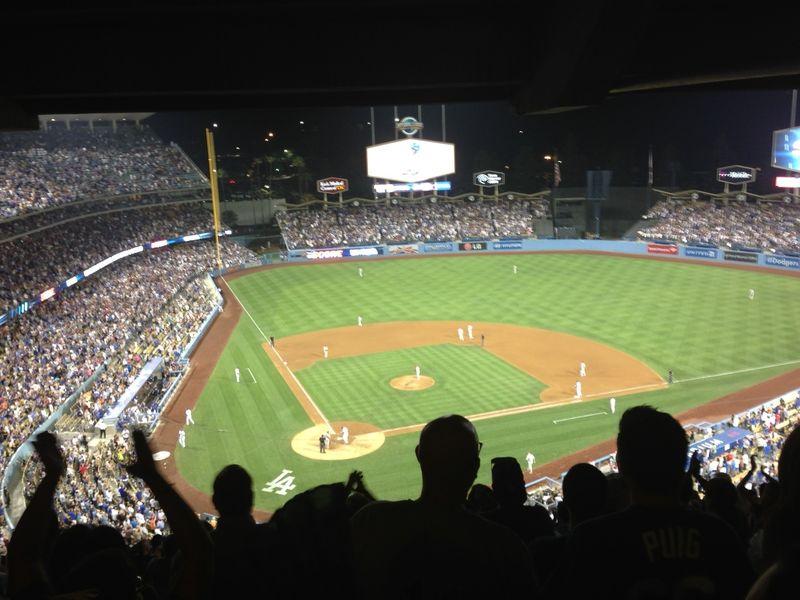 2013 Dodger Blog vs Philly Yassil key hit
