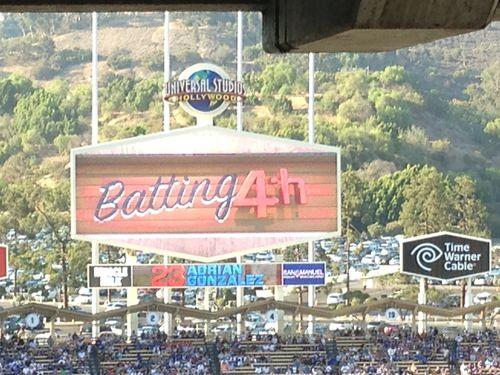 2013 Dodger Blog vs Red Choo battin 4 pic 24