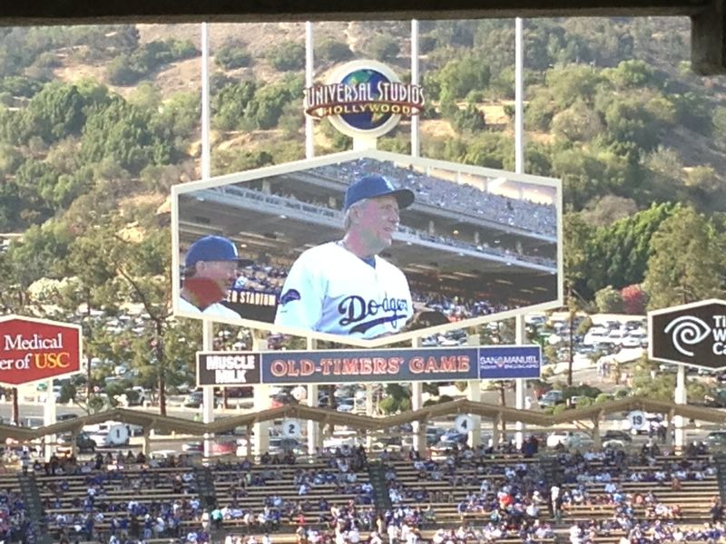 2013 Dodger Blog Old Timers Game pic 38 Rick Monday pic 2