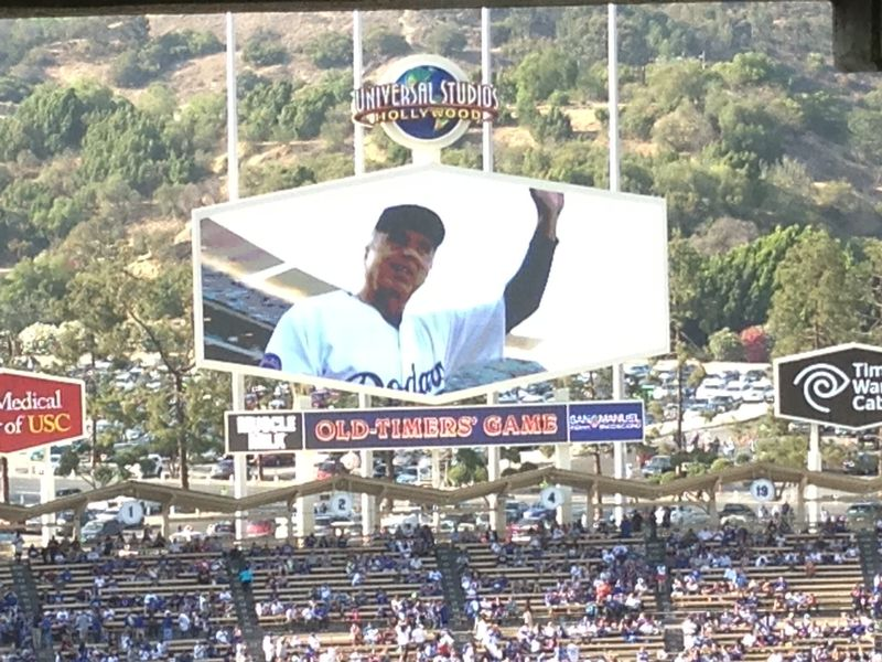 2013 Dodger Blog Old Timers Game pic 39 Rick Monday pic 4