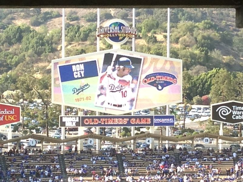 2013 Dodger Blog Old Timers Game pic 43 Ron Cey pic 1
