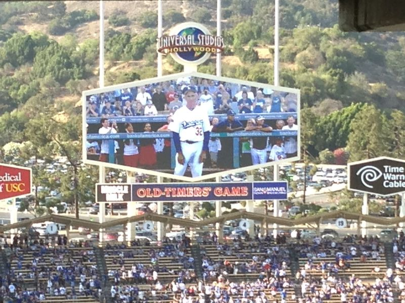 Old Timers Game Sandy Koufax pic 6 pic 76