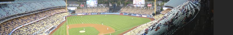 2013 Dodger Blog No fans in the Stadium