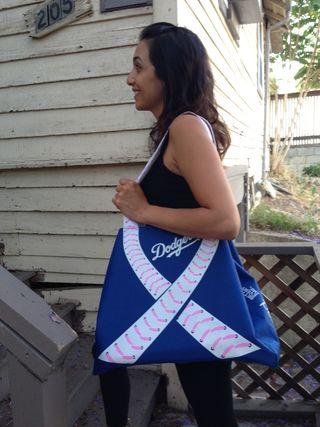 2013 Dodger Blog Mothers Day Tote Bag
