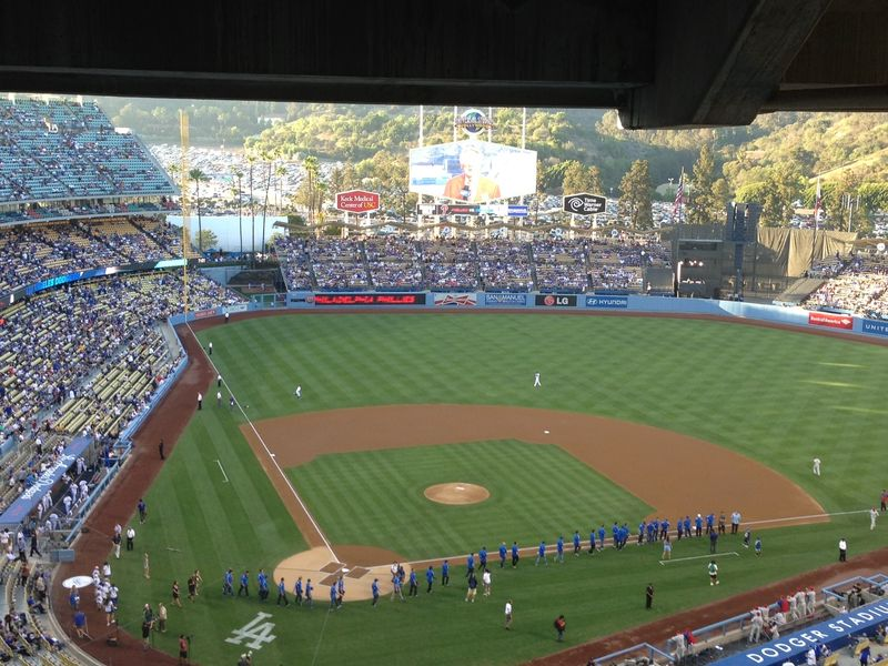 2013 Dodger Blog vs Phillies game 1 UcLA pic 8
