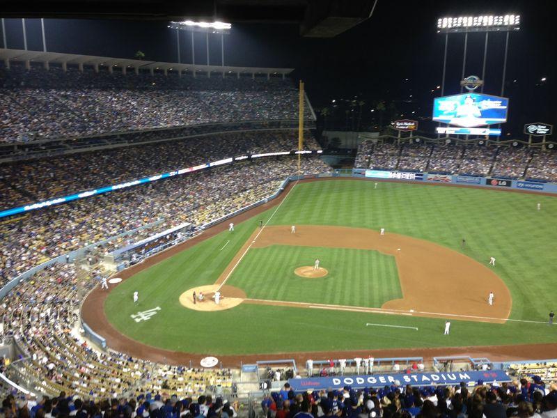 2013 Dodger Blog vs Phillies game 1 bottom of 6th pic 15