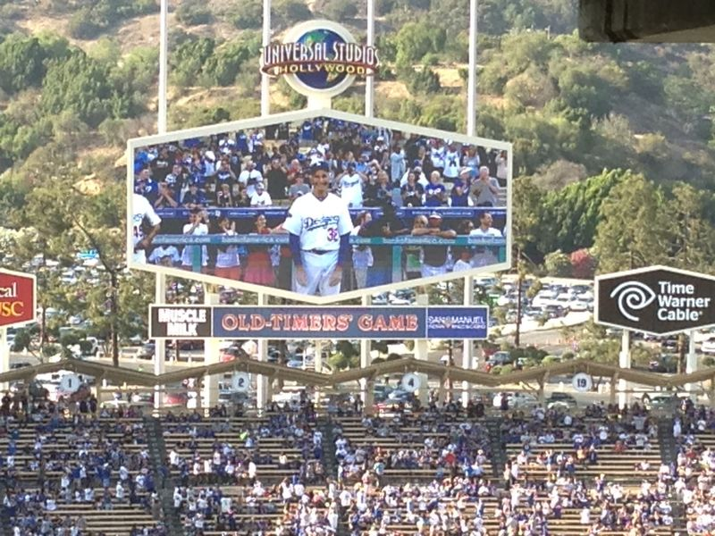Old Timers Game Sandy Koufax pic 7 piic 77
