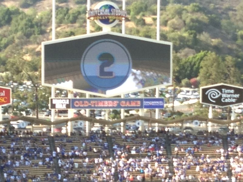 Old Timers Game Tommy Lasorda pic 2 pic 83