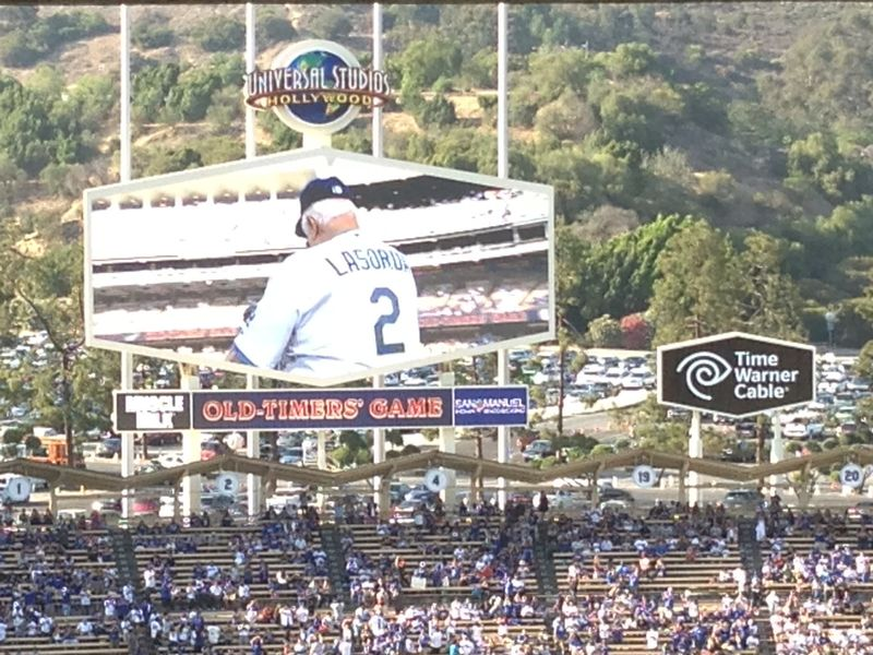 Old Timers Game Tommy Lasorda pic 6 pic 86