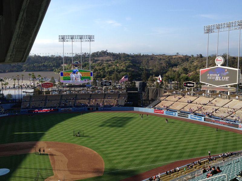 2013 Dodger Blog vs giants ucla