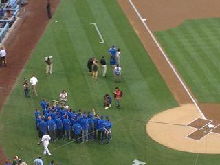 2013 Dodger Blog vs Phillies game 1 UcLA and Soohoo