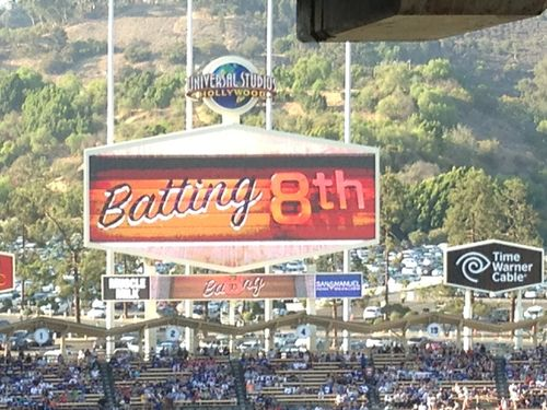 2013 Dodger Blog vs Red Choo batting 8 pic 32