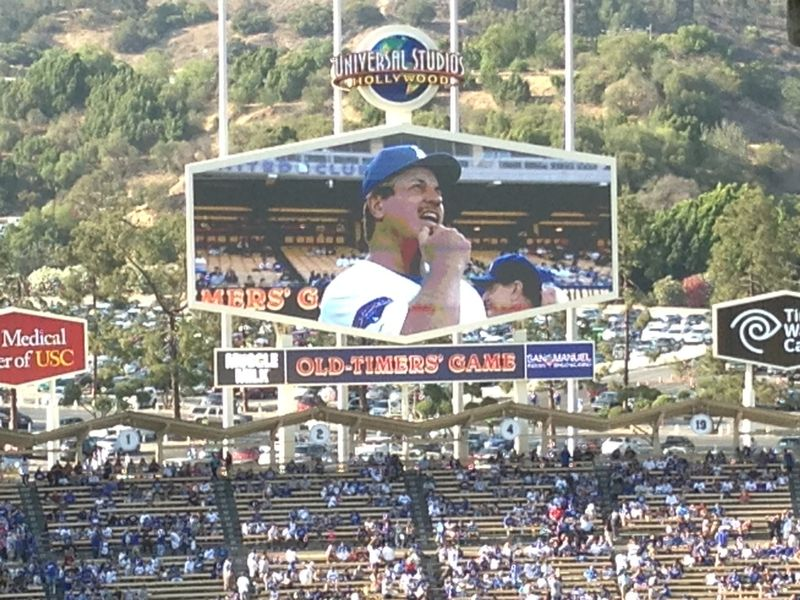 2013 Dodger Blog Old Timers Game pic 44 Ron Cey pic 2