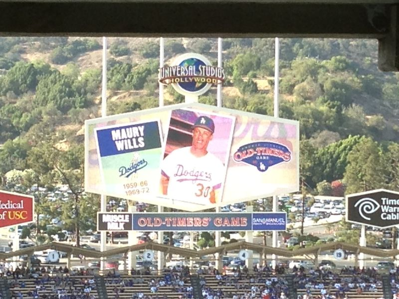 Old timers game Maury Wills pic 1 pic 67