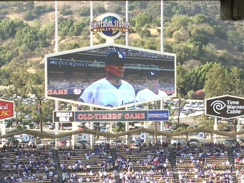 Old timers game Maury Wills pic 2 pic 68