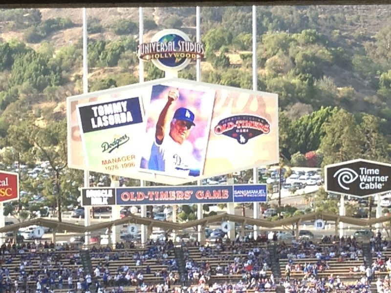 Old Timers Game Tommy Lasorda pic 1 pic 82