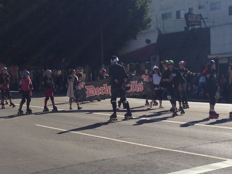 Echo Park Holiday Parade pic 6 Derby Dolls