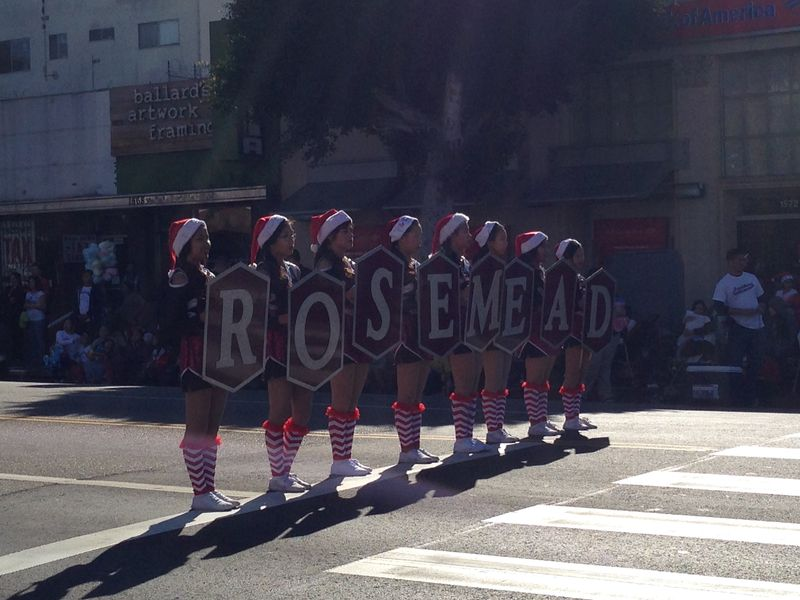 Echo Park Holiday Parade Rosemead pic 2