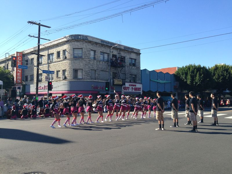 Echo Park Holiday Parade Rosemead Kicking pic 4