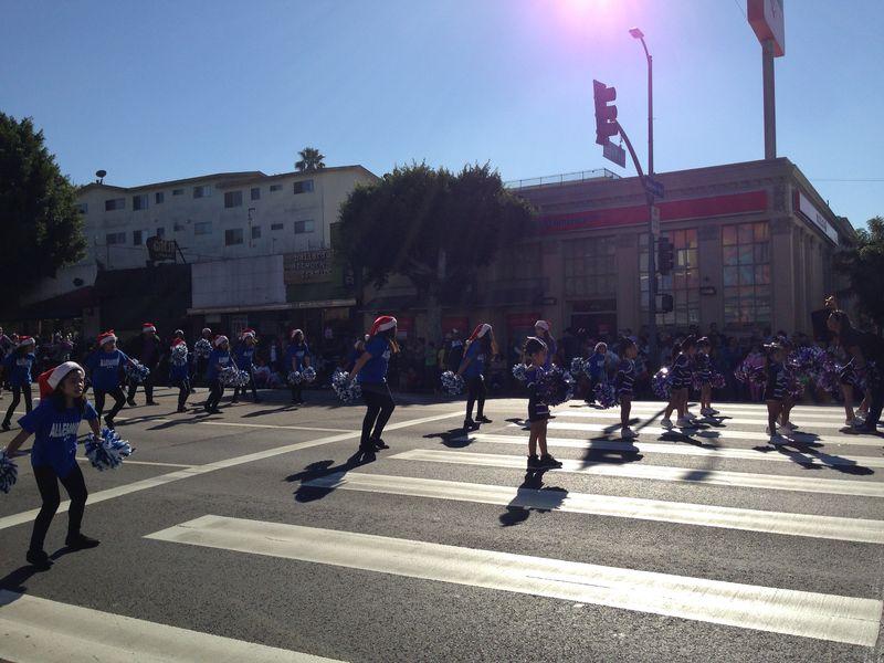 Echo Park Holiday Parade Allesandro Elementary pic 2