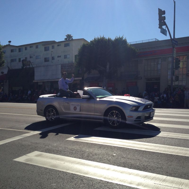 Echo Park Holiday Parade pic 15 Gil Cedillo