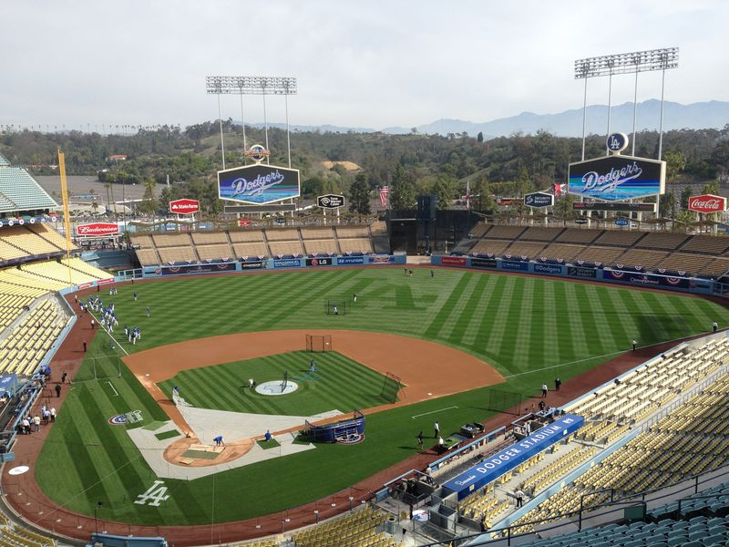 2014 Dodger Blog Opening Day pic 4