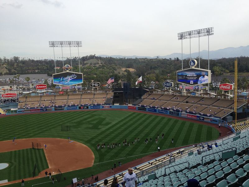 2014 Dodger Blog Opening Day pic 5