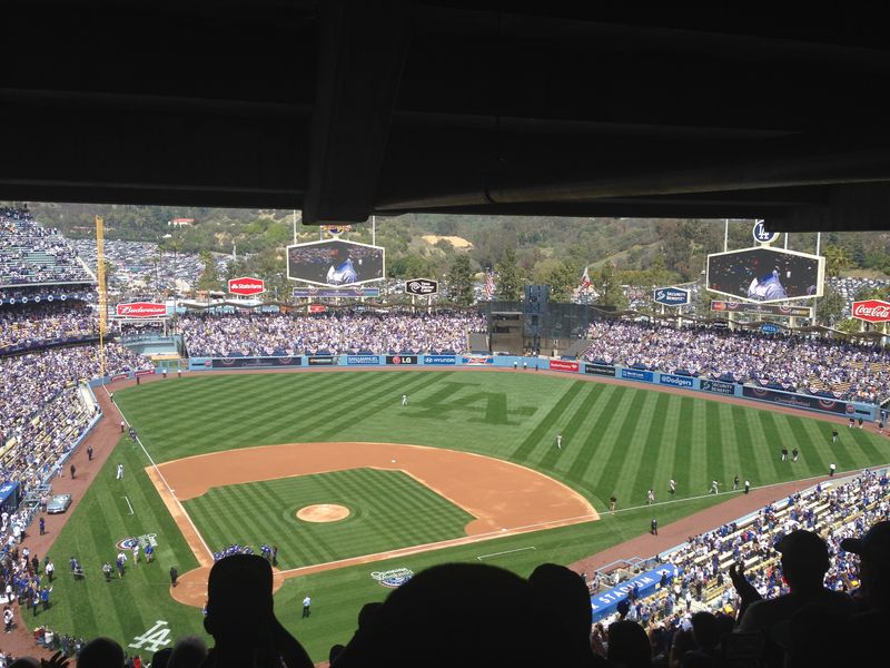 2014 Dodger Blog Opening Day pic 15