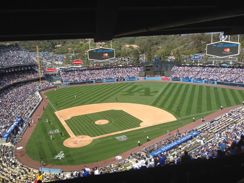 2014 Dodger Blog Opening Day pic 24