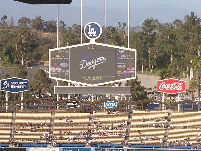 2014 Dodger Blog vs Colorado game 3 Kershaw No Hitter pic 1